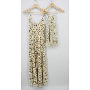 Auguste The Label mini & me Cream Floral Dresses